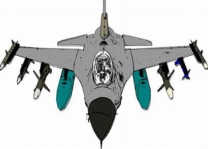 Fighter Jet Vector Clipart Aircraft Transparent Fighting