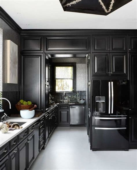 10 Sexy Black Kitchen Ideas  Home Decor Ideas