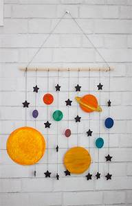 DIY Space Mobile Craft - HoneyBear Lane