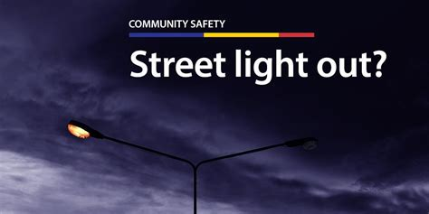 See A Street Light Out In Freeport Here 39 S Who To Call