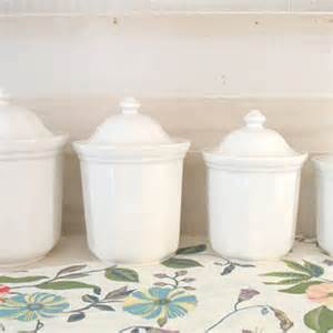 white kitchen canister sets ceramic best white canister set products on wanelo