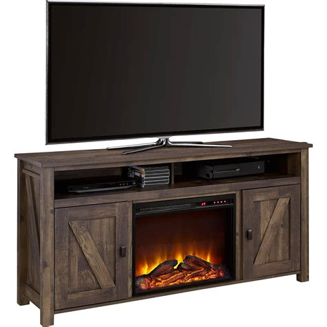 Electric Fireplace Tv Stands Walmartcom