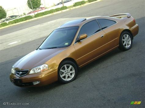 2001 Acura Cl S by Sundance Gold Metallic 2001 Acura Cl 3 2 Type S Exterior