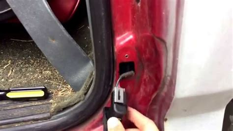 car door jamb car door chimer buzzer dome light fix check and