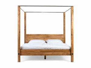 Bett Eiche Massiv 180x200 : bett 180x200 himmelbett massiv holz eiche schlafzimmer m bel neu panorama ebay ~ Indierocktalk.com Haus und Dekorationen
