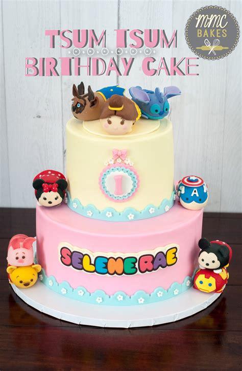 tsum tsum birthday cake mmc bakes