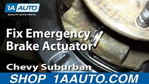 How To Rebuild Fix Emergency Brake Actuators 2000