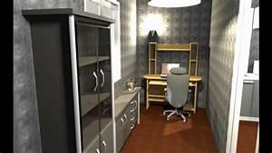 Escalier Sweet Home 3d : appartement 30m sweet home 3d by misterbastor youtube ~ Premium-room.com Idées de Décoration