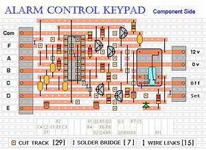 How To Build A 4-digit Alarm Control Keypad