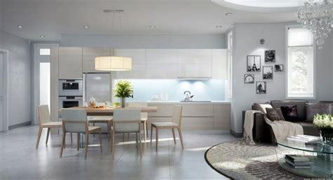spot de cuisine deco salon cuisine ouverte équipement de maison