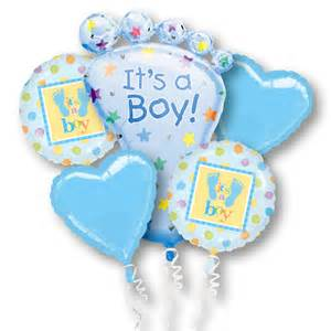 Baby Shower Balloons For Boys its a boy mylar party balloon bouquet inflated balloon