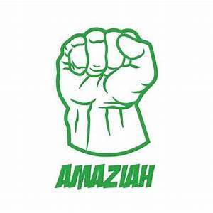 Personalized Hulk Smash Fist Wall Sticker Decal