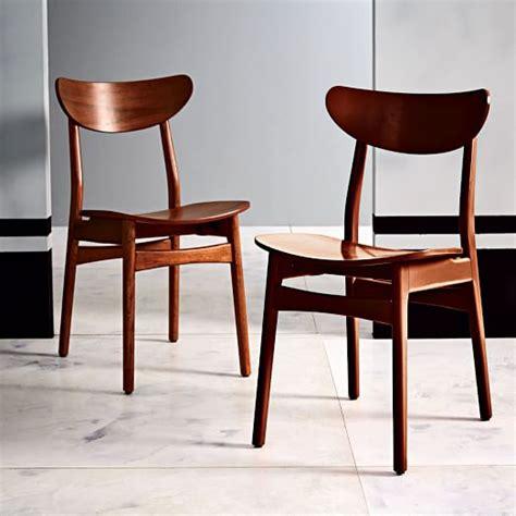 classic caf 233 dining chair walnut west elm