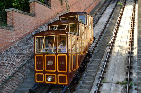 Budapest Castle Hill Funicular - Car Lifts Gellert ...
