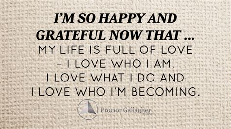 february  affirmation   month proctor gallagher