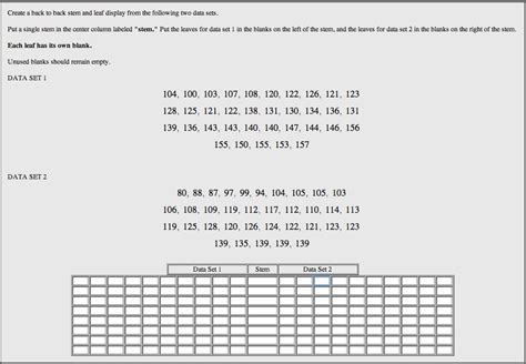 webwork questions  introduction  statistics