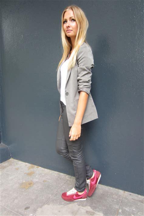 Hu0026M Blazers Pieces Shirts Hu0026M Pants Nike Sneakers   u0026quot;Simple school outfitu0026quot; by ...