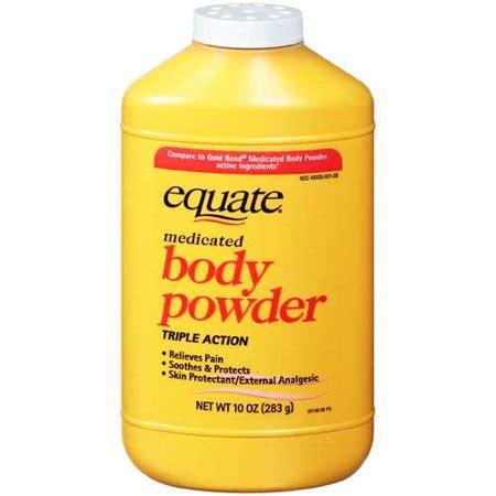 equate medicated body powder  oz walmartcom