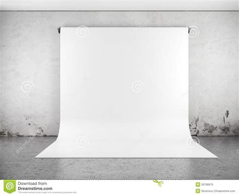 white backdrop  room stock illustration image  banner