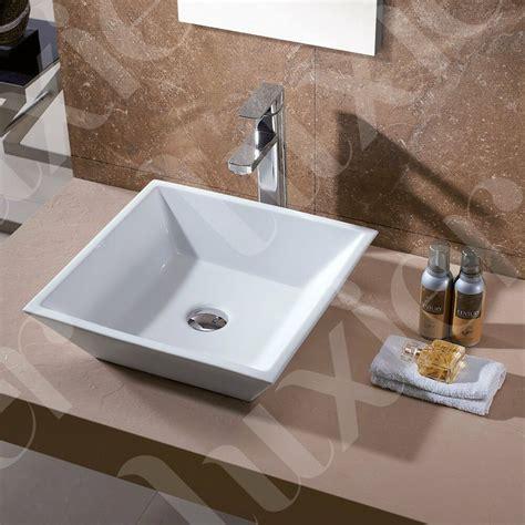 Bathroom Bowl Vanities by Luxury Bathroom Porcelain Vanity Vessel Sink Modern