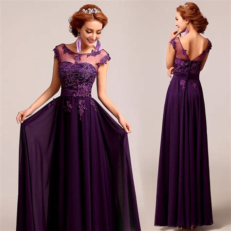 Violet Dresses Ides for Purple Weddings u2013 Designers Outfits Collection