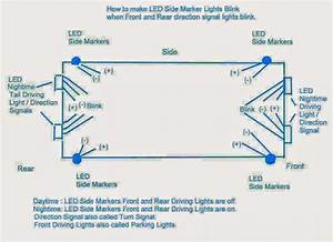 Customizing Car Side Marker Lights To Flashing Side