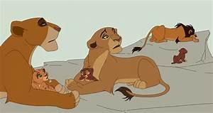 my kovu and kiara cubs by LanaBananaa on DeviantArt
