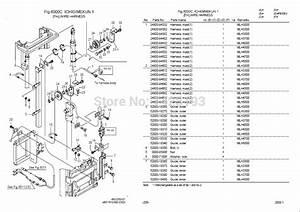 Nyk Nichiyu Forklift 2012 Spare Parts Catalog