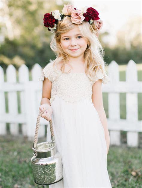 flower girl dresses flower girl trends wedding flower