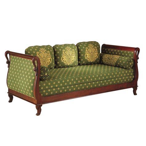 canapé style louis philippe canapé lit de repos brifaudon style empire empire