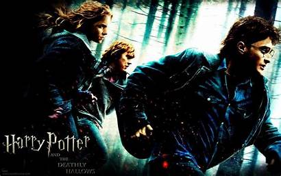 Potter Harry Desktop Wallpapers Hallows Deathly Wallpapercave