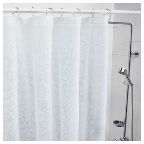 shower curtains ikea innaren shower curtain white 180x180 cm ikea