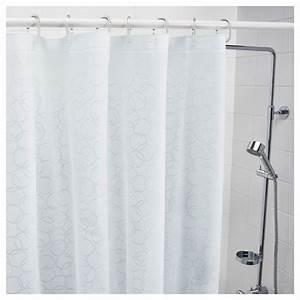 Ikea Rideau Blanc : innaren rideau de douche blanc 180 x 200 cm ikea ~ Melissatoandfro.com Idées de Décoration