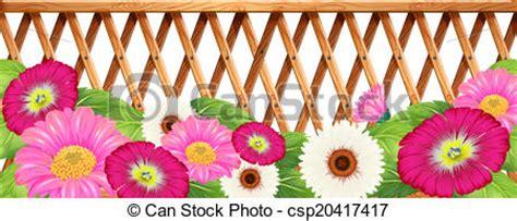 garden fence clipart  clip art