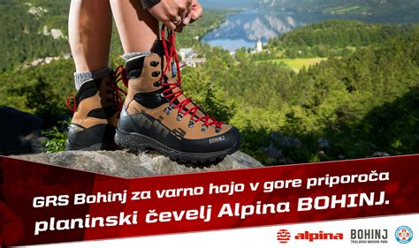 New Hiking Shoe Alpina Bohinj