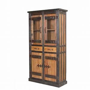 Vitrine 90 Cm Breit : vitrine coloniale aus altholz 100 cm breit ~ Bigdaddyawards.com Haus und Dekorationen