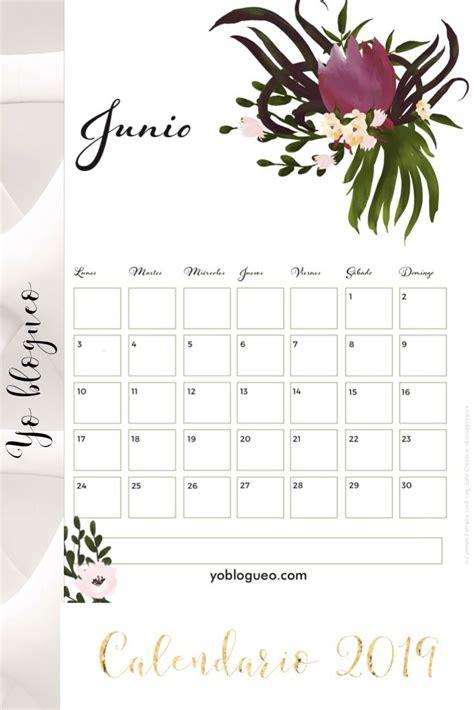 calendario   colgar en la pared de flores