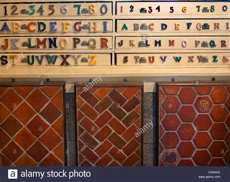 moravian tile works history moravian pottery tile works in doylestown pa stock photo