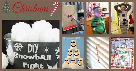 children s christmas party games