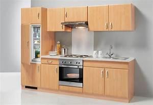 Küchenzeile 240 Cm Mit E Geräten : k chenzeile mit e ger ten prag breite 270 cm set 1 online kaufen otto ~ Watch28wear.com Haus und Dekorationen