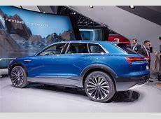 Audi etron SUV start elektrisch modeloffensief