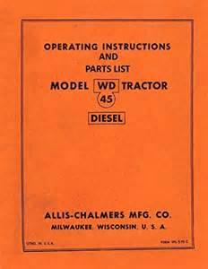 Wiring Diagram Database  Allis Chalmers Wd Parts Diagram