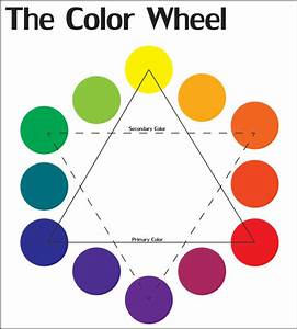 Color Wheel Chart Printable | Color Wheel by ...