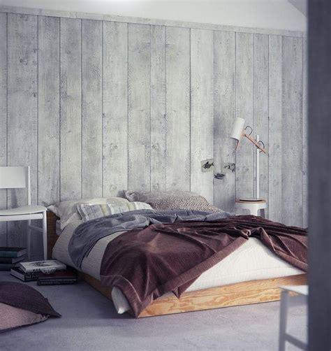 ag e chambre revêtement mural bois nos idées tendance pour la déco
