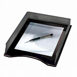 Rolodex distinctions legal letter tray 1 each black for Legal letter tray