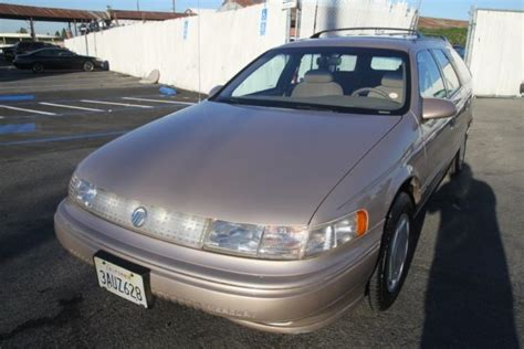 old car owners manuals 1993 mercury sable electronic valve timing 1993 mercury sable gs automatic 6 cylinder no reserve