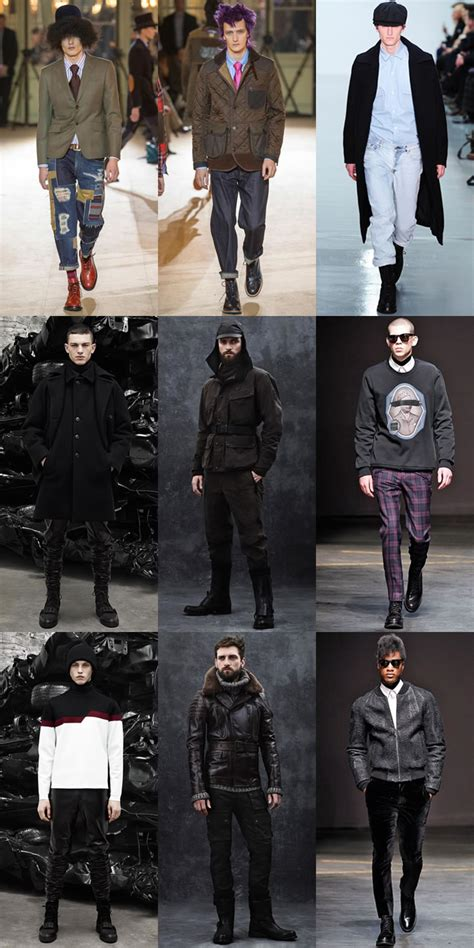 Men Autumn Winter Fashion Trend Punk Inspired