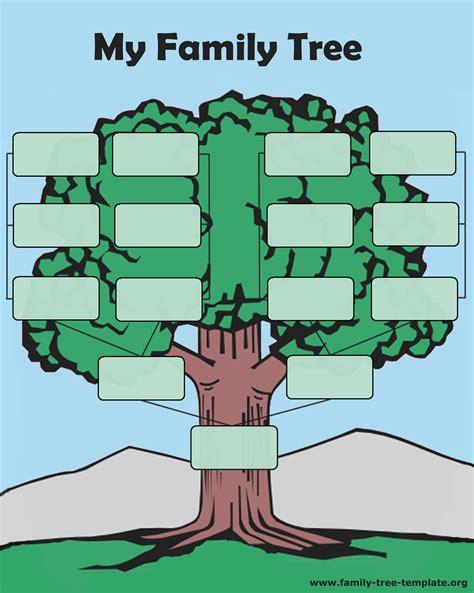 photo family tree template blank family tree template cyberuse