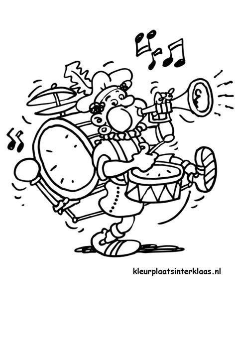 Acrobatiek Piet Kleurplaat by 40 Beste Afbeeldingen M O Kleurplaten Muziek Op