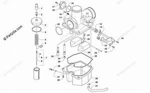 Arctic Cat Atv 2016 Oem Parts Diagram For Carburetor